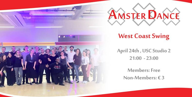 West Coast Swing Workshop by AmsterDance